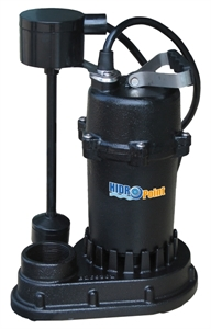 Picture of HPSPCIV4500 - Submersible Cast Iron Sump Pump with Vertical Switch, 115 V, 1/2 HP, 4500 GPH